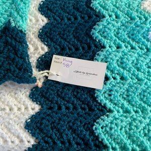Made by Grandma - Hand Crocheted King Blanket